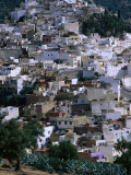 Overhead of Moulay Idriss  Meknes  Morocco