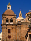 San Pedro Claver in Cartagena De Indias  Cartagena  Colombia