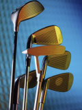 Close-up of Golf Clubs