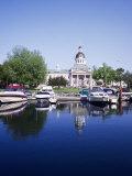 City Hall and Marina  Kingston Ontario  Canada