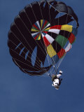 Skydiver with Parachute