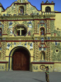 Church in San Andres Xecul  Guatemala