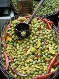 Olives of Uzes  Languedoc  France