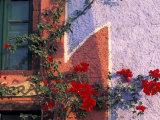 Traditional Architecture on Santorini  Greece