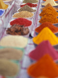 Colorful Spices in the Aswan Market  Egypt