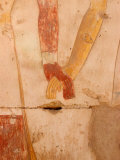 Wall Painting of Figures Holding Hands  Egypt