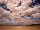 Clouds Over the Namib Desert  Namibia