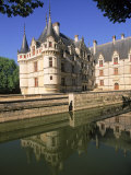 Chateau D'Azay-Le-Rideau  Loire Valley  France