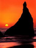 Oregon  Bandon Beach Sunset