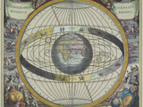 Ancient Astrological Map
