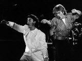 Andrew Ridgeley and George Michael of Wham  1985