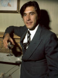 Brian Ferry Roxy Music Holding Glass of Wine  December 1975