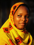 Portrait of Young Girl  Bagamoyo  Tanzania