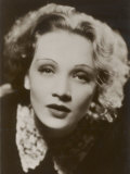 Marlene Dietrich German Film Actress in Soft Focus