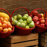 Baskets of Fruit for Sale  Tuscany
