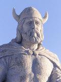 Statue of Viking  Gimli Manitoba