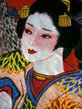 Geisha  Warrior Folk Art  Takamatsu  Shikoku  Japan