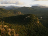 Cathedral Ledge and the White Mountains  New Hampshire