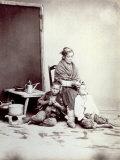 Genre Scene of Common Neapolitan Life: an Elderly Woman
