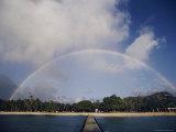 Rainbow Arching over the Island