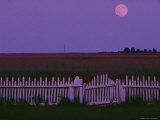 Moonrise over Smith Island
