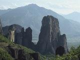 Roussanou Monastery in Meteora  Greece