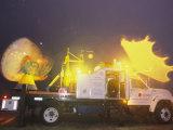 Doppler on Wheels Radar Trucks Wait for Tornadoes to Develop