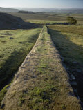An Elevated View of Hadrians Wall