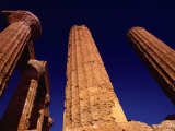 The Greek Temple to Juno in Agrigento  Sicily