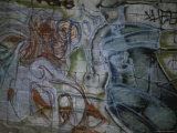 Spray-Painted Murals Line the Cinder Block Walls of East Los Angeles