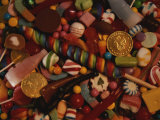 A Varied View of Dime Store Candy Makes Sweet Colorful Patterns