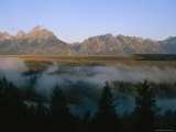 Fog Rising off the Snake River in the Early Morning