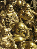 Buddha Statues are Sold at a Curio Market
