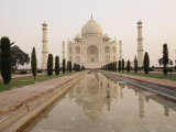 View of the Taj Mahal Early in the Morning