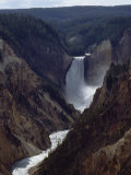 Artist Point  Yellowstone Falls  Wyoming