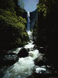Bridal Veil Fall in Yosemite Valley  California