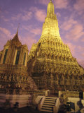 Wat Arun or Temple of Dawn  Bangkok  Thailand