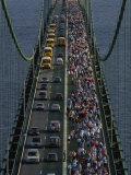 Annual Labor Day Bridge Walk Across the Mackinac Bridge  St Ignace  Michigan