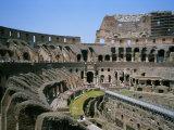 A View Inside Rome's Colosseum