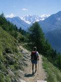 Hiking the Piz Muragl Mountain Above St Moritz