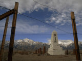 Monument to Japanese-Americans at Manzanar State Historic Park  California