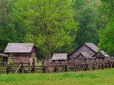 Pioneer Homestead  Great Smoky Mountains  North Carolina  USA