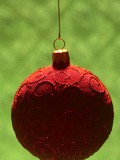 Close-up of Beautiful Christmas Ornament