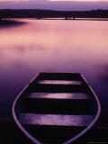 Boat on Otter Lake  Poconos  PA