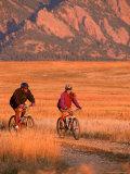 Couple Mountain Biking  CO
