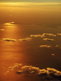 Aerial View  off the Coast of NY