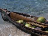 Coconuts in Canoe  Pequeno  Garifum  Cochino