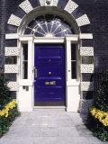 Classic Doorway  London  England