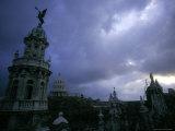 Downtown with Stormy Skies  Havana  Cuba