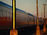 Exterior of Railroad at Sunrise  Canada